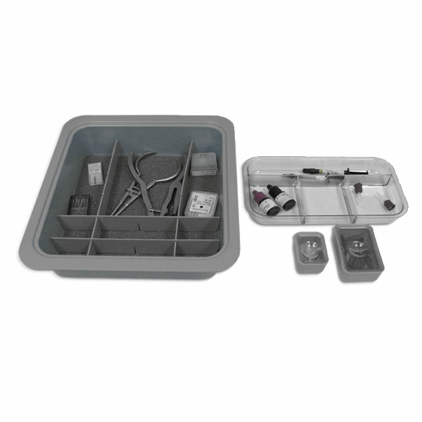COMPLETE TUB-PKG GRAY