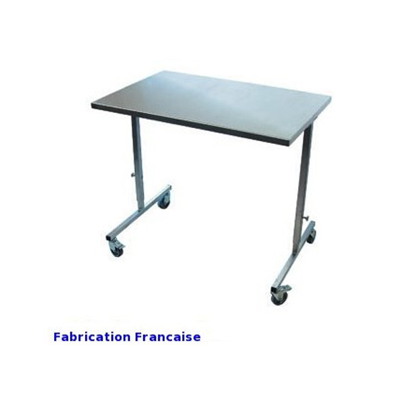 TABLE TRANSTHORACIQUE INOX IPP 900X600